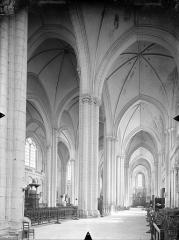 Cathédrale Saint-Pierre - Vue intérieure du bas-côté sud et de la nef, vers le nord-est