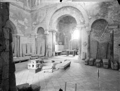Baptistère Saint-Jean - Vue intérieure