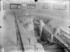 Hypogée des Dunes - Vue intérieure de la chapelle souterraine