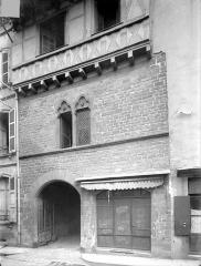 Maison dite Hôtel d'Armagnac - Façade sur rue