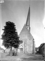 Eglise de Saint-Martin-des-Champs - Ensemble ouest