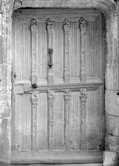 Château - Chapelle : Vantail de porte