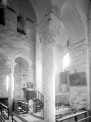 Eglise - Vue intérieure du choeur vers le nord-est