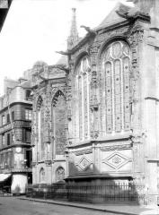 Ancienne église Notre-Dame-de-Froide-Rue ou église Saint-Sauveur - Abside, côté nord