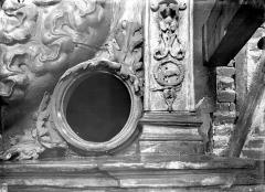 Gros-Horloge et fontaine - Détail de l'ornementation