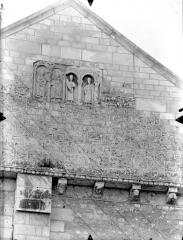 Eglise Saint-Hilaire - Façade nord : Pignon du transept