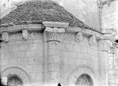 Eglise Saint-Hilaire - Absidiole du transept sud : Frise sculptée