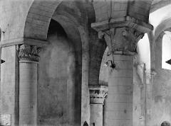 Eglise Saint-Hilaire - Chapiteaux du bas-côté nord