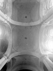 Eglise Saint-Hilaire - Voûtes de la nef (vue verticale)