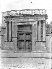 Musée Rupert de Chièvres - Portail de l'ancienne église des Augustins