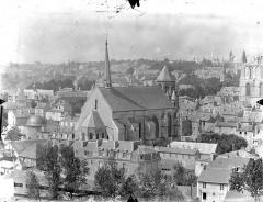 Eglise Sainte-Radegonde - Vue générale prise du nord-est