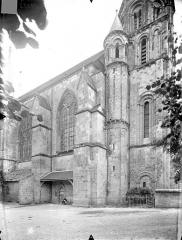 Eglise Sainte-Radegonde - Façade nord