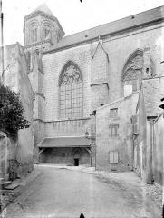 Eglise Sainte-Radegonde - Façade sud