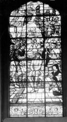 Hôpital - Vitrail de la chapelle : Le Couronnement d'épines