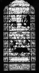 Hôpital - Vitrail de la chapelle : La Transfiguration