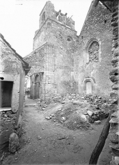 Eglise - Angle nord-ouest : Clocher