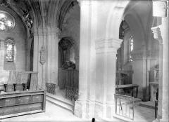 Eglise Saint-Sauveur - Vue intérieure de la croisée du transept, vers le nord-est