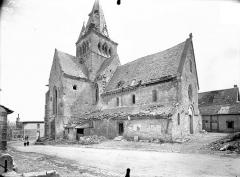 Eglise Saint-Lié - Ensemble nord-ouest
