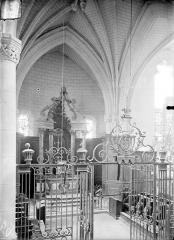 Eglise Saint-Lié - Vue intérieure du choeur