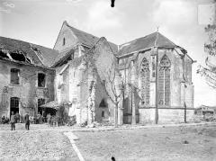 Ancienne abbaye cistercienne - Eglise : Angle sud-est