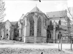 Ancienne abbaye cistercienne - Eglise : Ensemble est