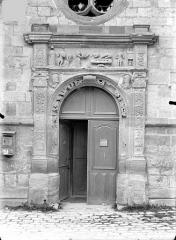 Eglise Notre-Dame - Portail de la façade sud