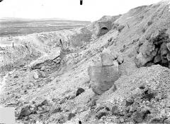 Fort de la Pompelle et ses abords - Partie ouest : Vue perspective vers le nord