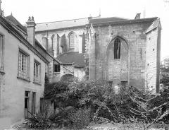 Cathédrale Saint-Vincent - Façade sud : Sacristie et trésor