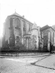 Cathédrale Saint-Vincent - Angle nord-est