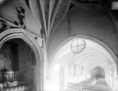 Cloître capitulaire de Saint-Vincent - Vue intérieure de la galerie est