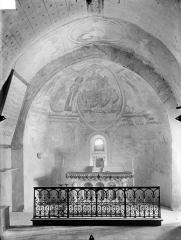 Eglise Notre-Dame - Crypte Saint-Catherine : Vue intérieure du choeur