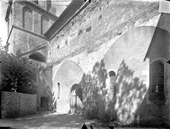 Ancien Hôtel-Dieu - Chapelle Saint-Laurent - Façade sud