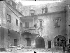 Hôtel Fumey ou Fumé - Façade sur cour