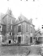 Ancien Hôtel de Jean Du Moulin de Rochefort, actuellement siège de la DRAC (direction régionale des affaires culturelles) de Poitou-Charentes - Pavillon sur le jardin