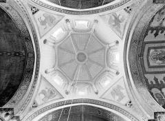 Eglise Saint-Nicolas - Coupole du clocher (vue verticale)