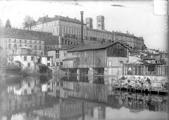 Evêché - Vue générale prise du sud-ouest, depuis le canal des Augustins