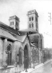 Cathédrale Notre-Dame - Façade nord prise en perspective vers l'ouest