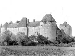 Château de la Motte-Josserand - Ensemble sud