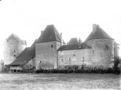 Château de la Motte-Josserand - Ensemble nord