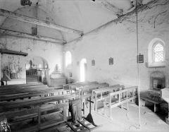 Eglise - Vue intérieure de la nef vers le sud-est
