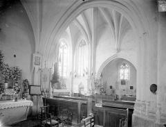 Eglise - Vue intérieure du choeur vers le sud-est