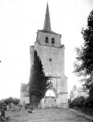 Eglise - Ensemble ouest : Tour clocher