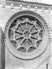 Eglise Notre-Dame - Transept sud : Rose