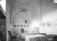 Prieuré Saint-Mayeul (restes de l'ancien) - Chapelle : Vue intérieure vers l'ouest