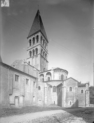 Ancienne abbaye Saint-Philibert - Eglise - Angle sud-est