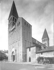 Ancienne abbaye Saint-Philibert - Eglise - Ensemble sud-ouest