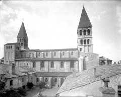 Ancienne abbaye Saint-Philibert - Eglise - Ensemble sud