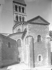 Ancienne abbaye Saint-Philibert - Eglise - Abside et clocher, côté sud-est