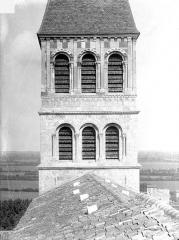 Ancienne abbaye Saint-Philibert - Eglise - Clocher central : Arcatures, côté ouest