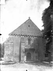 Eglise Saint-Gervais Saint-Protais - Façade ouest